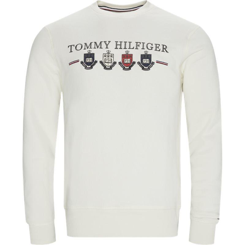 Tommy hilfiger - multi crest sweatshirt fra tommy hilfiger på kaufmann.dk